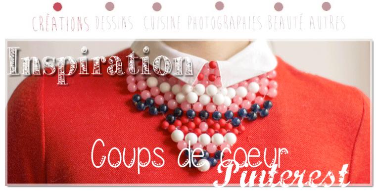 Coups de coeur Pinterest