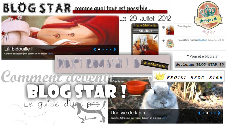 Comment devenir blog star ?