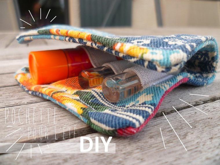 DIY Une minie pochette pour l'été