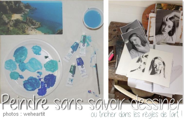 Comment peindre comme un pro... sans savoir dessiner !