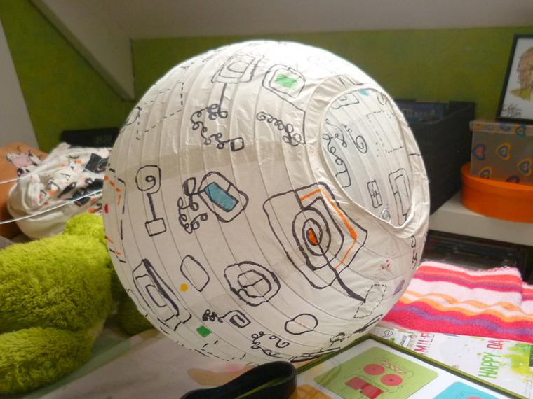 DIY - Décorer une boule japonaise