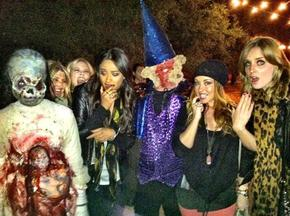 Les pretty little liars sont allées à ''Spooky Haunted Hayride ''