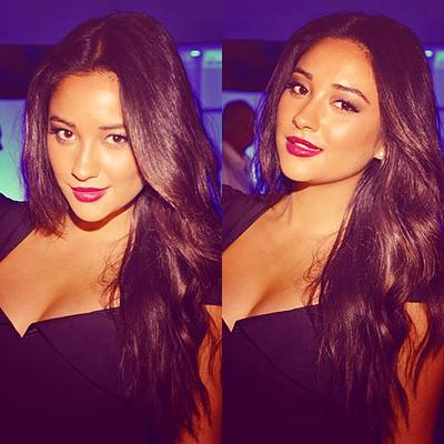 Shay Mitchell etait hier au  Guess by Marciano et Vogue 2011