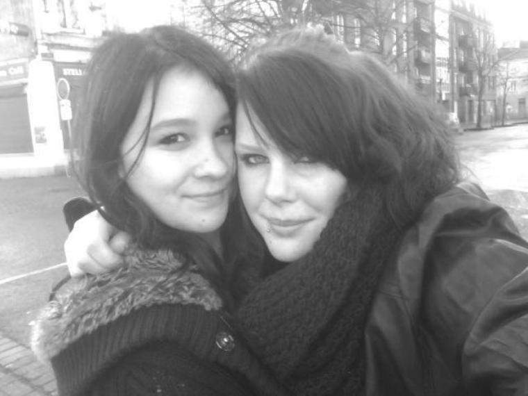 Ma chérie Justine et moii ♥