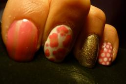 Rose léopard <3