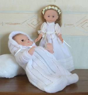 Aujourd'hui une communiante et un baptême