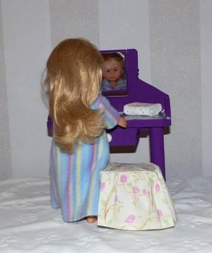 Encore un petit meuble : la coiffeuse