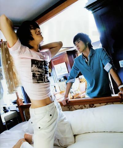 C'est moi ou Yunho est extrêmement attiré par Jaejoong