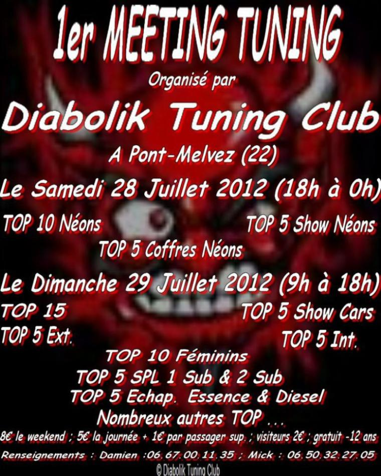 meeting  du diabolik tuning club