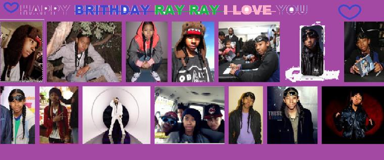 HAPPY BIRTHDAY RAY RAY