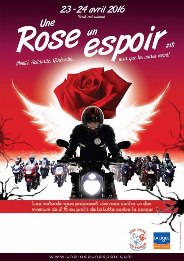 1 ROSE 1 ESPOIR 2016 23 et 24 avril