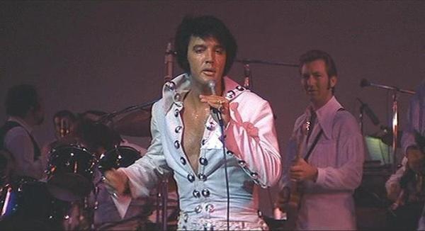 Elvis & James Burton