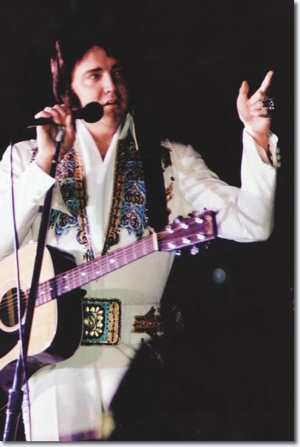 Elvis Presley Ann Arbor Michigon Avril 25, 1977