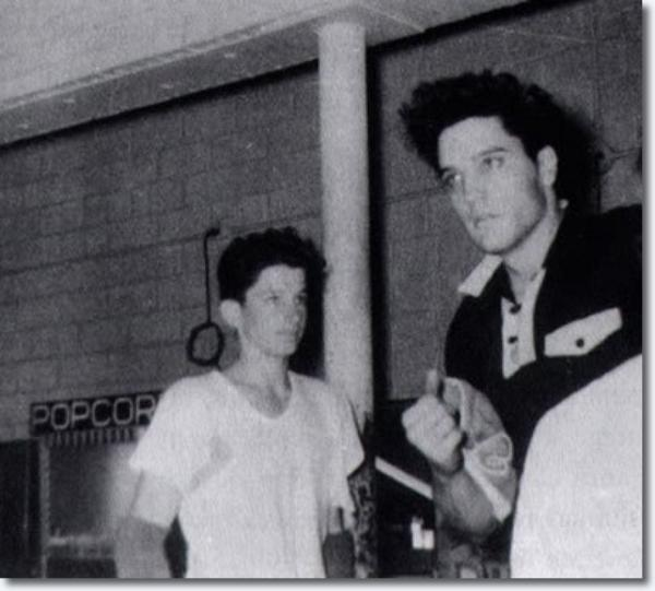 Elvis Presley Rainbow Rollerdrome 19 Mars, 1960
