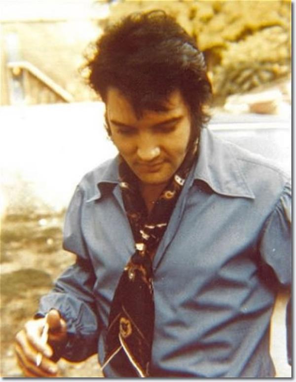 Elvis Presley Arrivée au Studio B 4 Juin, 1970