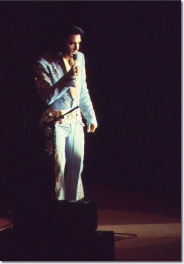 Elvis Presley Evansville, Indiana Juin 13, 1972
