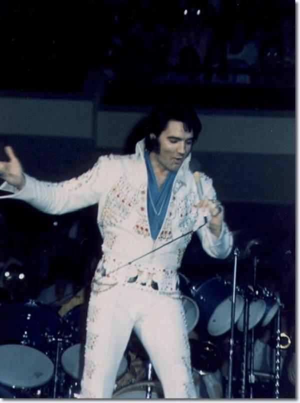 Elvis Presley Avril 24, 1973 Anaheim, Californie