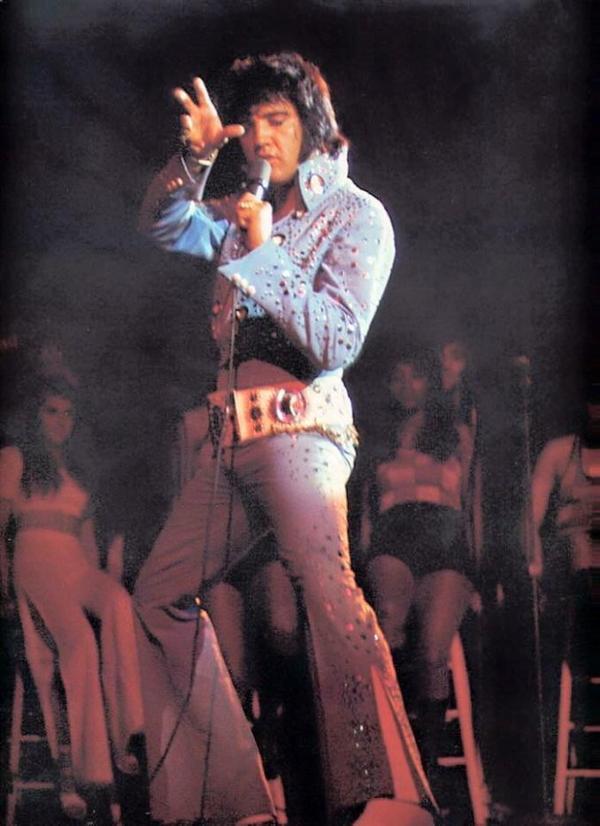 Elvis en concert