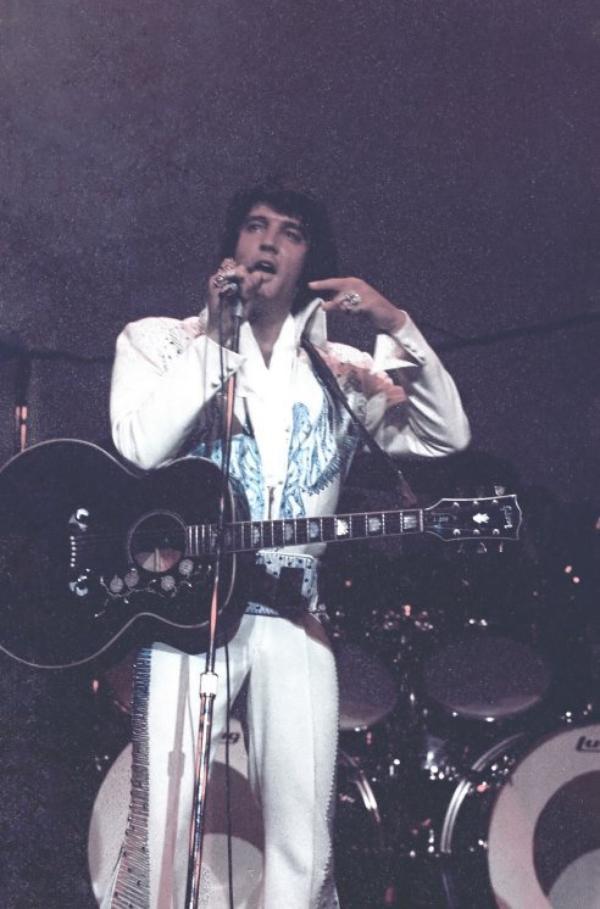 Elvis Las Vegas août 1974