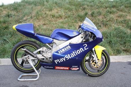 Yamaha TZ 125 Team OJ
