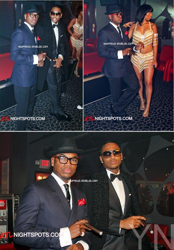 ".        TOURNAGE DE CLIP : Trey et Ne-Yo sur le tournage de ""The Way You Move"".  ."