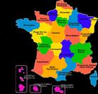 LES DIFFERENTES REGIONS DE FRANCE