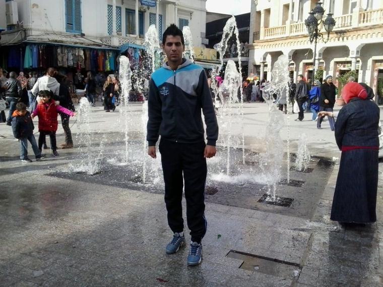 moi à beb b7ar en tunisie