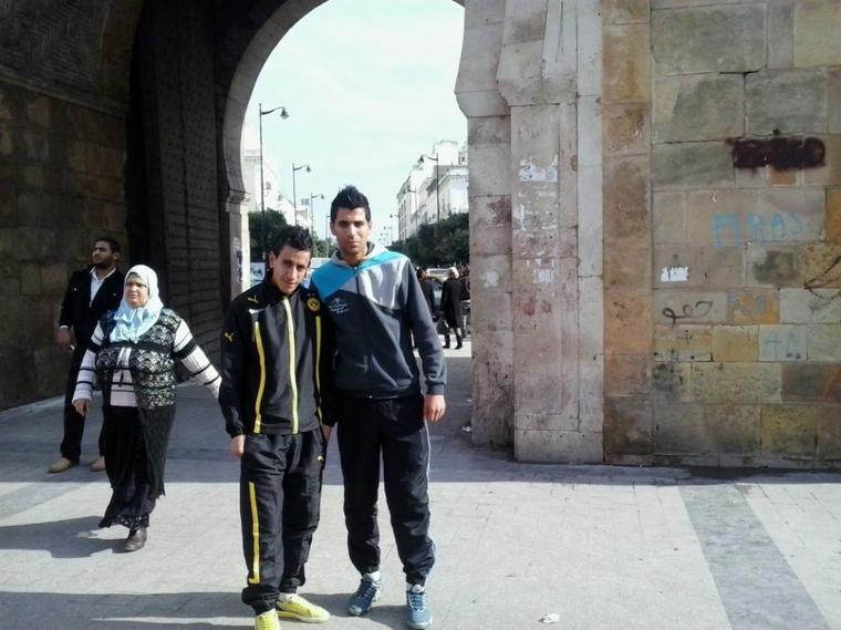 moi & salah à beb bhar en tunisie