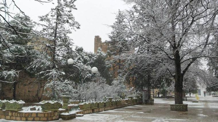 :p la neige