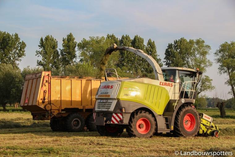 Gras 2014 met Claeys AGRI
