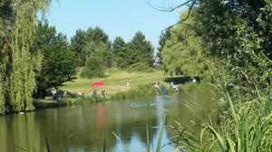 Petit concours amical dans l'étang privé de Servon 17 06 2017