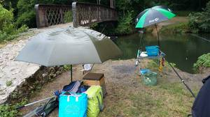 """L'Yerres """" cascade de Périgny """" coté Essonne 91 le 30 juin 2017"""