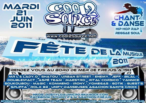Fête de la Musique Cool2Source