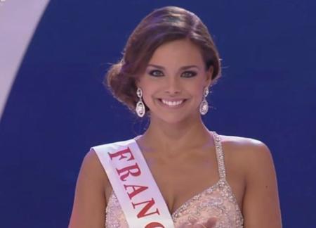 Marine Lorphelin à Miss Monde 2013