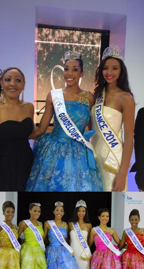 Miss Guadeloupe 2014 est Chloé Mozar