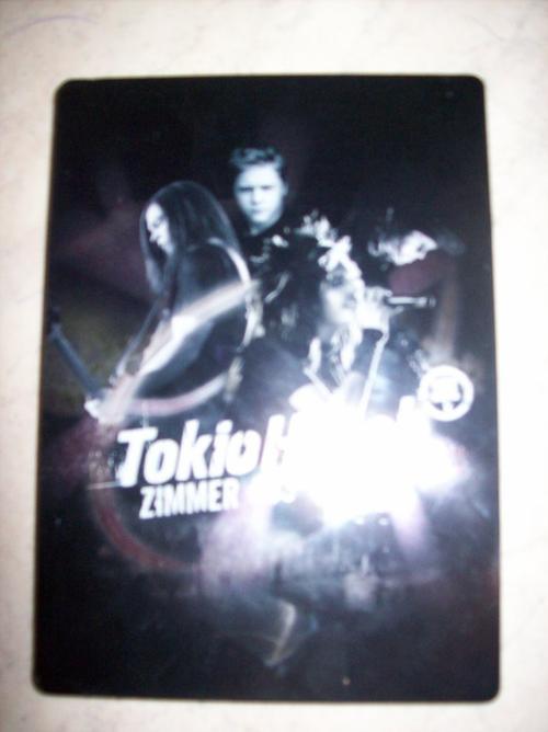 DVD du concert de Tokio Hotel.