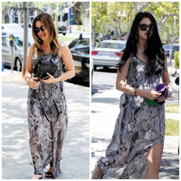 Sophia Bush VS Selena Gomez : Qui porte le mieux cette robe ?