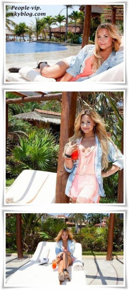 Nouveau photoshoot de Demi Lovato.