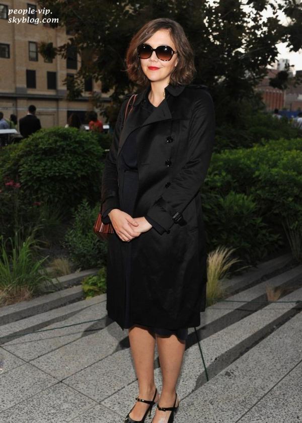 Diana Agron, Maggie Gyllenhaal, Penn Badgley et Anna Kendrick  à la Coach's Summer Party à New York. Mardi, 19 juin