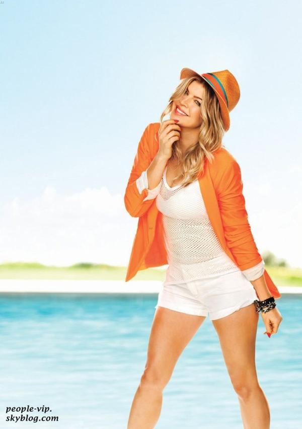 """Fergie en couverture du magazine US """"Self"""" ."""