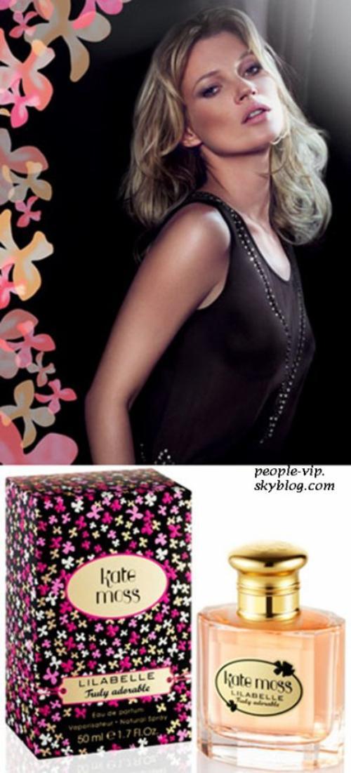 Découvrez le nouveau parfum de Kate Moss.