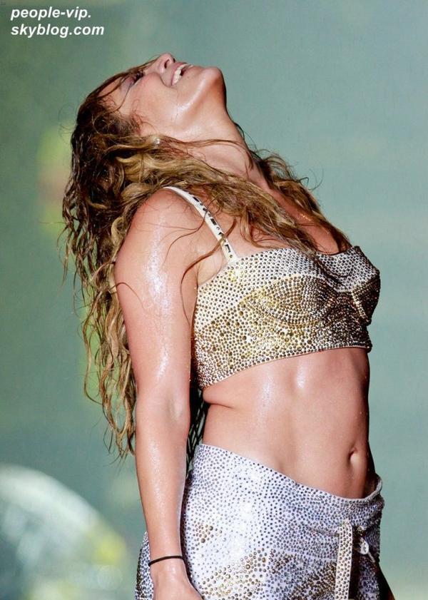 Concert de Jennifer Lopez au Brésil. Dimanche, 01 juillet