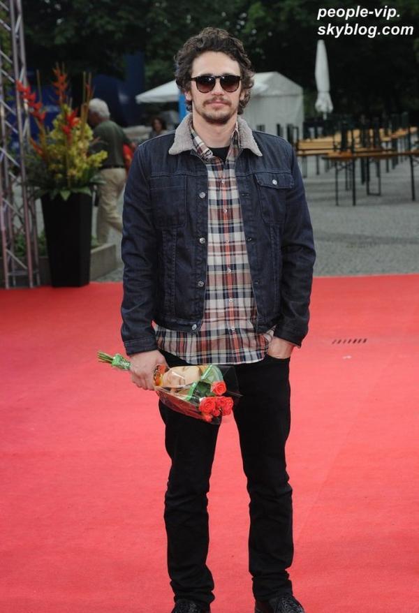 James Franco a assisté au 2012 Munich Film Festival, à Munich, en Allemagne. Lundi, 02 juillet