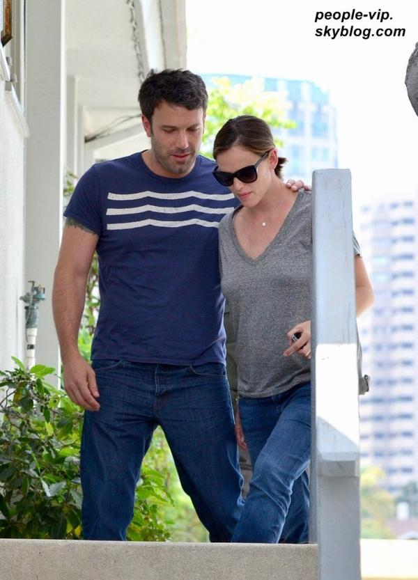 Jennifer Garner et Ben Affleck dans les rues de Los Angeles. Mardi, 03 juillet