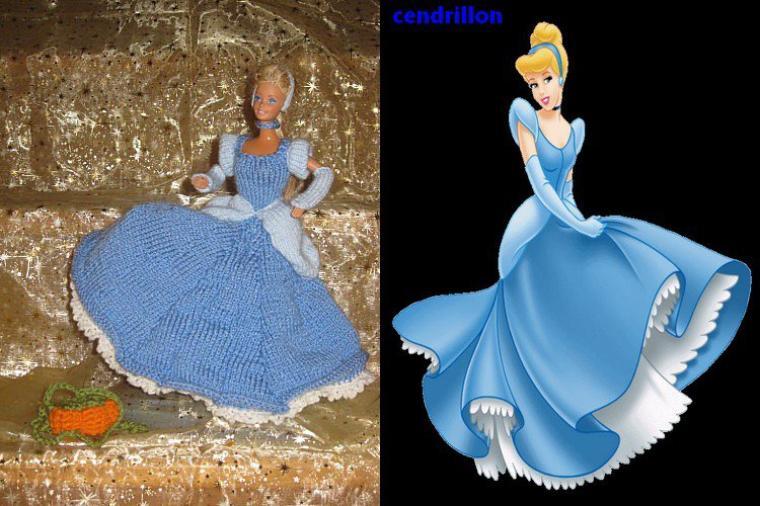 les belles princesses walt disney au tricot.