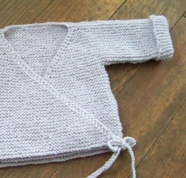 tuto tricot, des gilets.