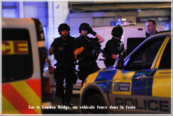 Londres: un véhicule renverse des piétons sur le London Bridge