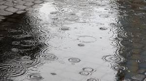 De la pluie...
