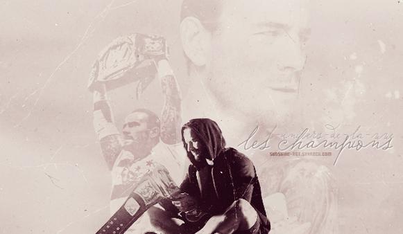 Les différents Champions de la WWE !!