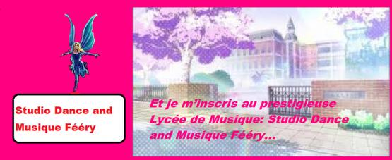 Chapitre 2 : Lycée Dance and Musique Féery